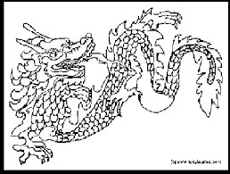 charming ideas chinese dragon coloring pages kids