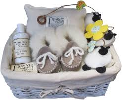 Baby Basket Gifts Romney Marsh Wools Our Range Gifts