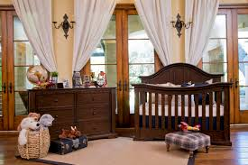 Million Dollar Baby Classic Louis Convertible Crib With Toddler Rail by Tilsdale Collection In Rich Walnut By Million Dollar Baby Classic