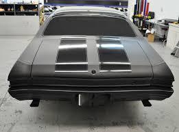 Mustang Black Matte Racing Skins 1968 Chevelle U2013 Matte Black Paint Wrap With Gloss