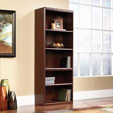sauder 4 shelf bookcase amazon com cornerstone library bookcase kitchen u0026 dining