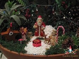 miniature christmas fairy garden 2013 gardening pinterest