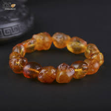 amber stone bracelet images Baltic amber bracelet amber drop with skin handmade of raw amber jpg