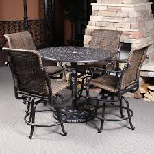 Patio Furniture Counter Height Table Sets Balcony Height Patio Furniture Home Site