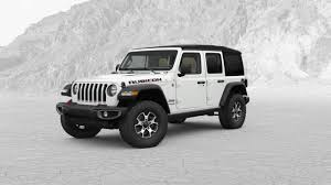 modified white jeep wrangler most expensive 2018 jeep wrangler jl costs 57 310