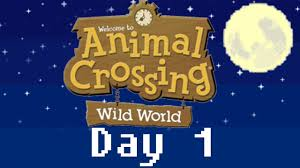 365 days of animal crossing wild world day 1 welcome to astaria