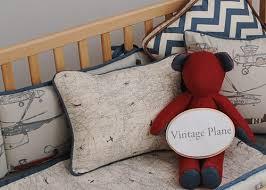Vintage Aviator Crib Bedding Vintage Plane Crib Bedding Baby Boy Pinterest Crib Babies