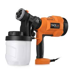 tacklife sgp15ac advanced electric spray gun 800ml min paint