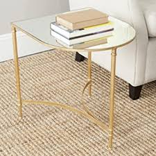 Safavieh Home Furniture Amazon Com Safavieh Home Collection Nevin Gold Accent Table