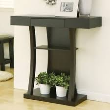 Entrance Console Table Furniture Modern Curved Console Table Storage Drawer Entrance Hallway Lobby
