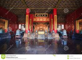 Forbidden City Floor Plan by Palace Of Heavenly Purity Interior Stock Photography Image 31195042