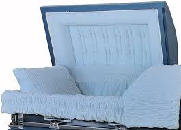 blue casket 8331 18 light blue casket with light blue velvet interior