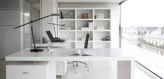 Modern Home Office Furniture Collections Black And White Office White Office Furniture For