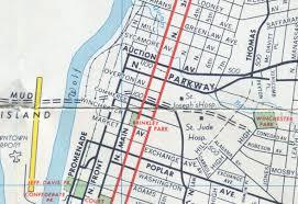 Memphis Map Memphis U0027 Disjointed Streets 2 Crème De Memph