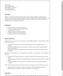 Firefighter Resume Examples by Download Certified Fire Protection Engineer Sample Resume
