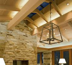 Light Fixtures For Living Room Ceiling How Can I Properly Light A Space With High Ceilings Lighting