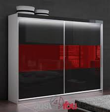 wardrobe mona lisa with led lighting sliding doors with high
