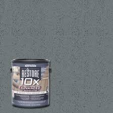 home depot design deck online rust oleum restore 1 gal 10x advanced gray deck and concrete