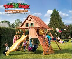 cedar swing sets maine chateau swing set sportspower adventure