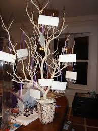 Wedding Tree Centerpieces Pics Of Centerpieces And Escort Tree Weddings Wedding Forums
