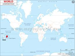 niue on world map where is niue niue location in world map