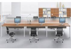 Two Person Reception Desk Office Work Station Simple Style Office Workstation 2 Person