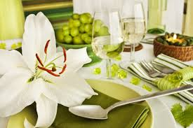 Anniversary Table Centerpieces by Dinner Table Decorations For Dinner Parties 5363