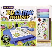 made by me peel and stick 3d cling maker by horizon group usa