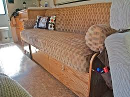 Jackknife Sofa Rv Diy Tacks On The Deck