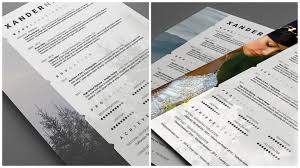 Resume For Photographer Well Designed Resume Examples For Your Inspiration