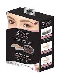 What Side Does A Stamp Go On Amazon Com 3 Second Brow Eyebrow Stamp Perfect Natural Looking