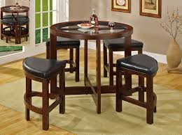 Indoor Bistro Table And Chair Set Impressive Indoor Bistro Table Sets Wooden With Regard To Bar And