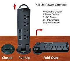 Electrical Outlet Strips Under The Cabinet Under Desk Power Strip Amazon Com