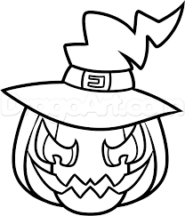 halloween chibi background how to draw a halloween pumpkin step by step halloween seasonal