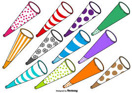 noise makers vector noise makers set free vector stock graphics