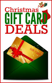 gift cards sale christmas gift card deals frugal living nw