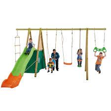 siège bébé pour portique portique 2 30 m bois métal trapèze cabane siège bébé pour 9