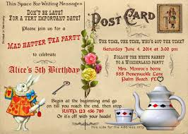 mad hatter invitation template 28 images free mad hatter tea