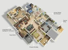 Ide Modern Four Bedroom House Plans Design Ideas 4 1 Sto Momchuri
