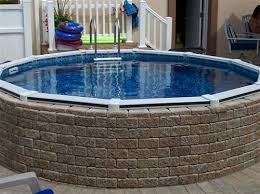 above ground pool landscaping bing images heavenly homes