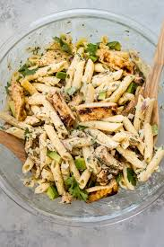 grilled chicken pasta salad u2022 salt u0026 lavender