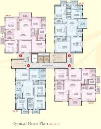 2200 sq ft 3 bhk 4t apartment for sale in aditya construction