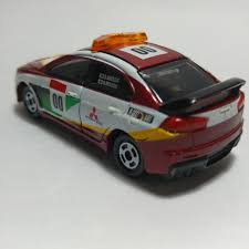 tomica mitsubishi tomica rally car collection mitsubishi evolution x course car