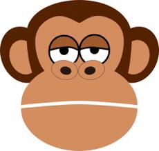 Monkey Face Meme - make meme with girl monkey face cartoon clipart