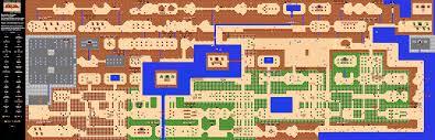 Metroid Nes Map The Original Legend Of Zelda Map Zelda