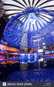 futuristic design of the sony center in potsdamer platz