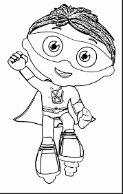 super why coloring page funycoloring