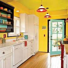 Blue Yellow Kitchen - classy design yellow kitchen colors best 25 yellow kitchens ideas