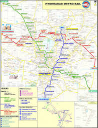 Metro Route Map by Hyderabad Metro Rail Map This Is The Route Map Of Hyderaba U2026 Flickr