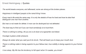 Best Resume Quotes by Stop Misquoting Leonard Cohen And Ernest Hemingway Start